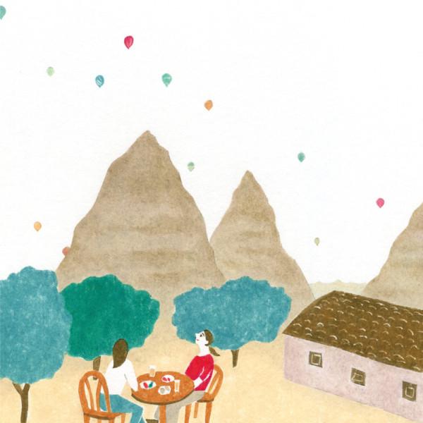 気球日和 カッパドキアにて